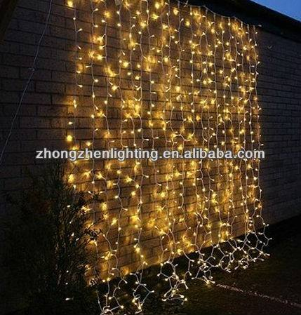 Outdoor kerst string fairy wedding gordijn light