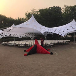 stretch holes tents for wedding