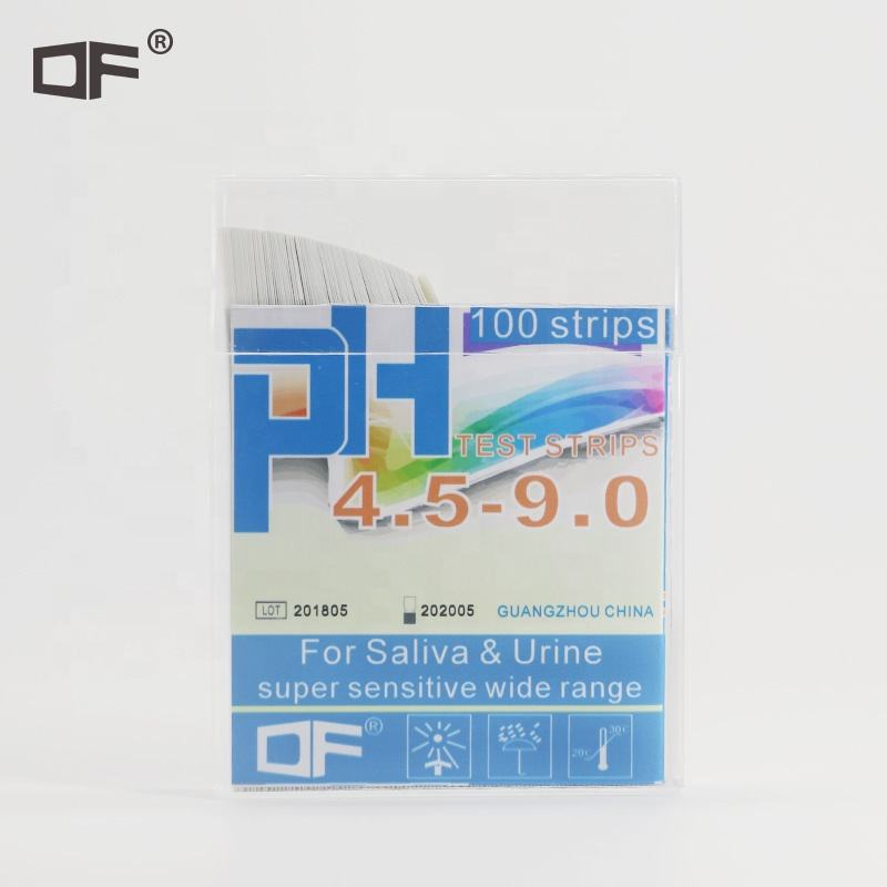 PH Test Strips, PH4.5-9.0, Akurasi 0.25, JZ-SC