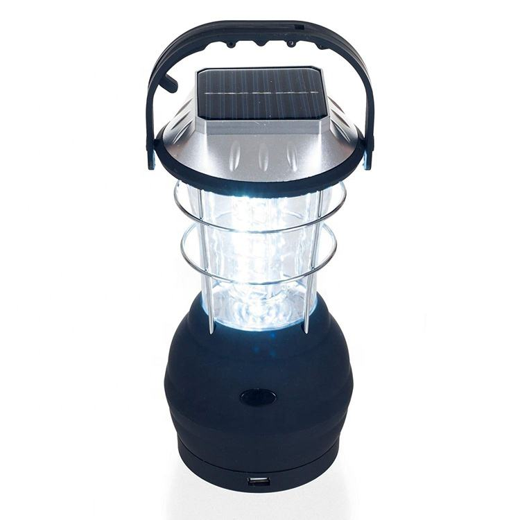 Outdoor Rechargeable Dynamo Camping 36 Led Solar Powered Lantern
