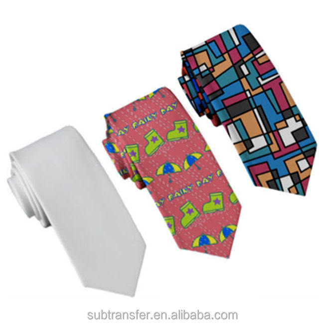 Fashionable Sublimation blank tie, DIY necktie