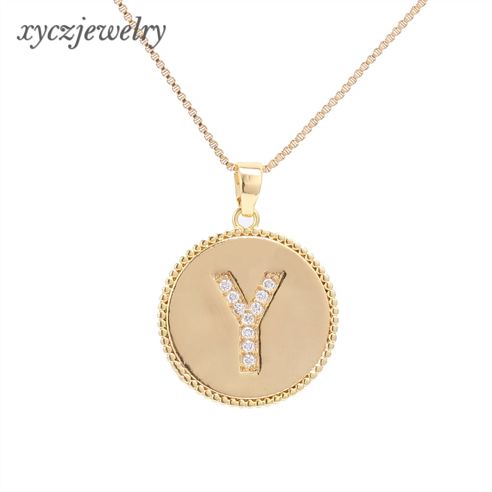 2020 new fashion jewelry set letters earrings pendant gold plated jewelry