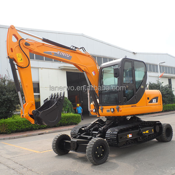 best price rubber tire excavator with A Discount