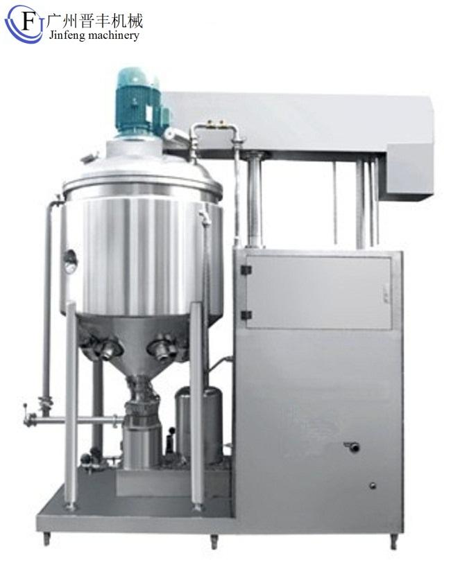 Cake Gel Emulsifier Cold Cream Making Machine toothpaste mixer