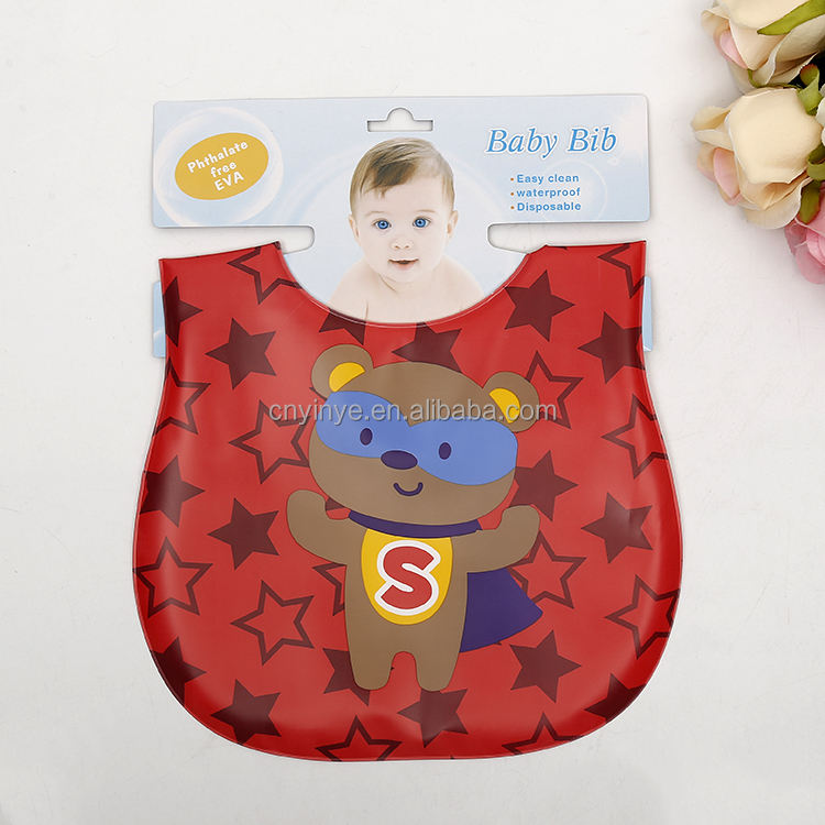 High Quality Phthalate Free EVA Baby Bibs Disposable Bid For Adult