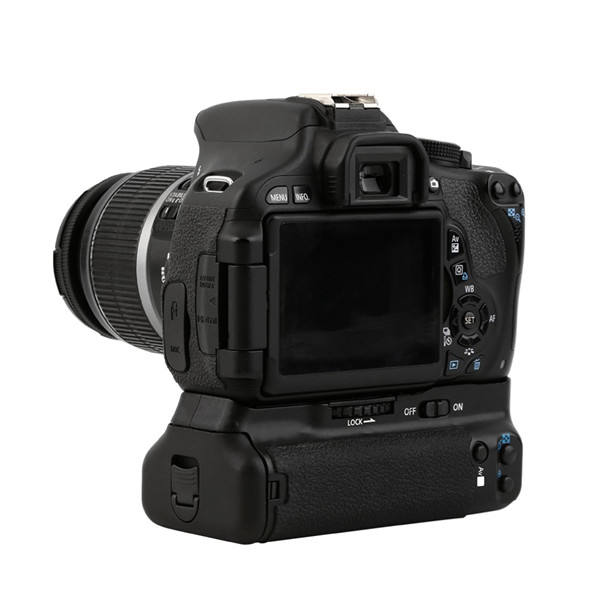 Professionale DSLR <span class=keywords><strong>Battery</strong></span> <span class=keywords><strong>Grip</strong></span> Holder BG-E8 Kit per 550D <span class=keywords><strong>600D</strong></span> 650D 700D T2i T3i T4i macchina fotografica