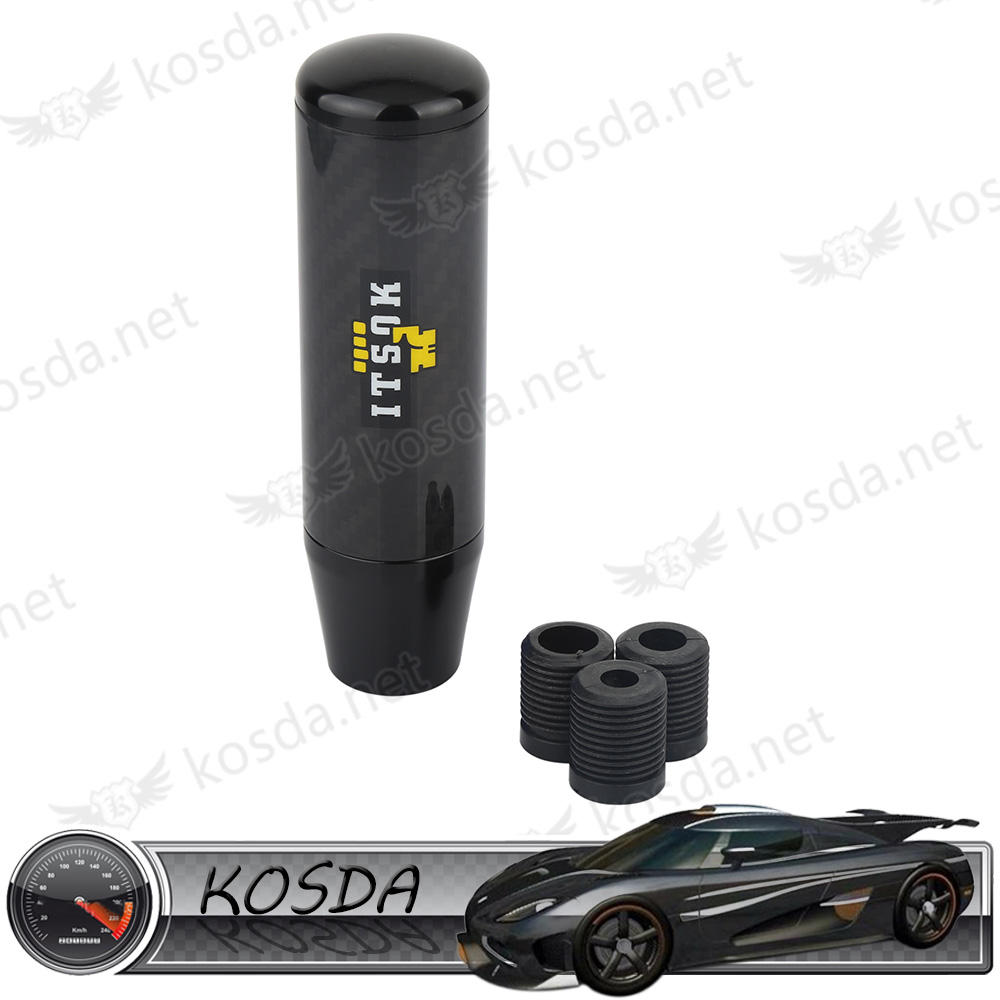 new universal car real black carbon fiber 13cm dildo Gear Shift Knobs