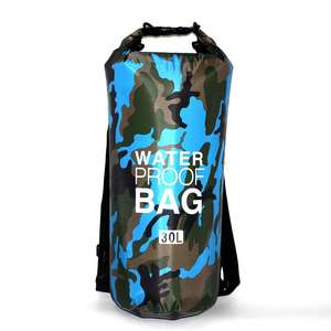 10 Years Factory Polyester Camo Waterproof Bag Ultralight Hiking Floating Custom Logo Dry Bag Camouflage Dry Bag