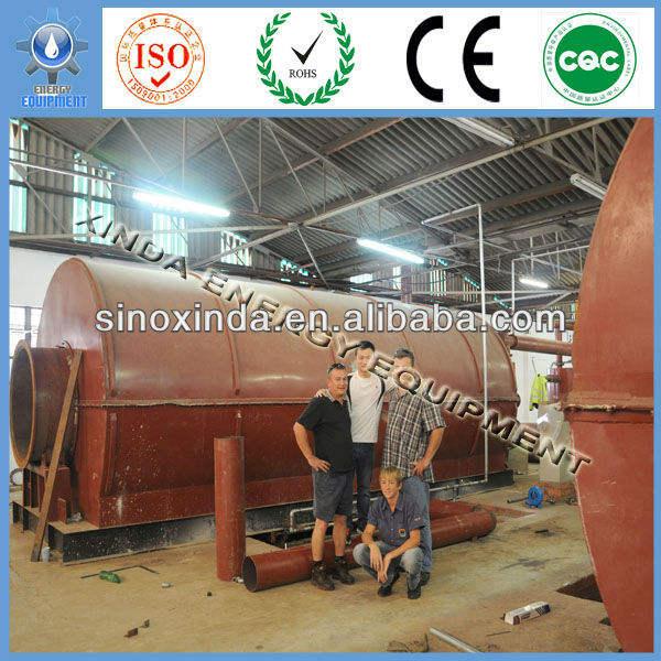 надежное качество используемых шин на нефть пиролиза оборудования