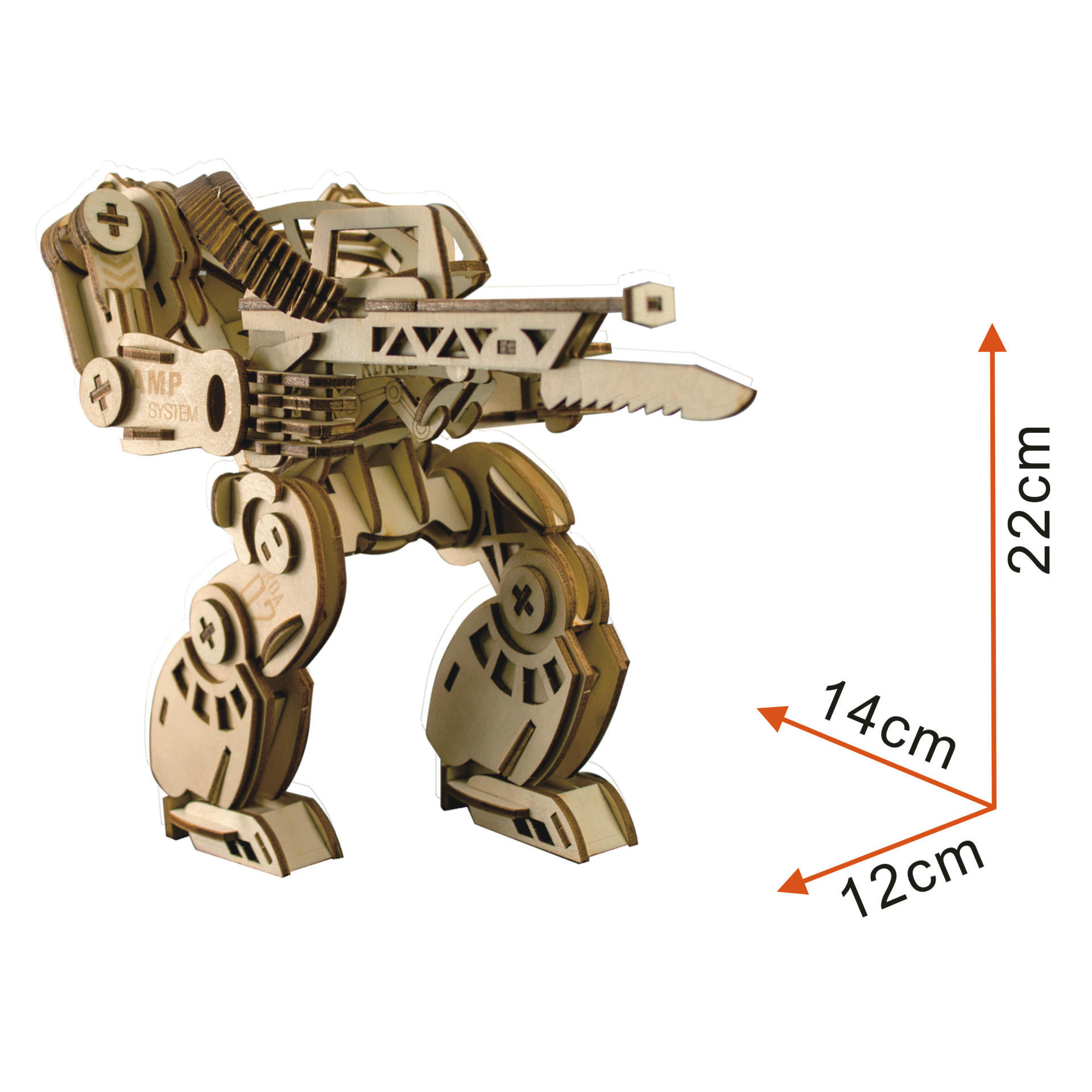 Oray Nature Wood 3D Assembly Jigsaw Toys Avatar Woodcraft Kit Wooden Puzzles Toy for Kids and Adults