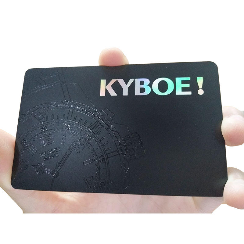 CMYK Printing Cr80 Credit Card Size Spot Uv Business Card Plastic PVC Card