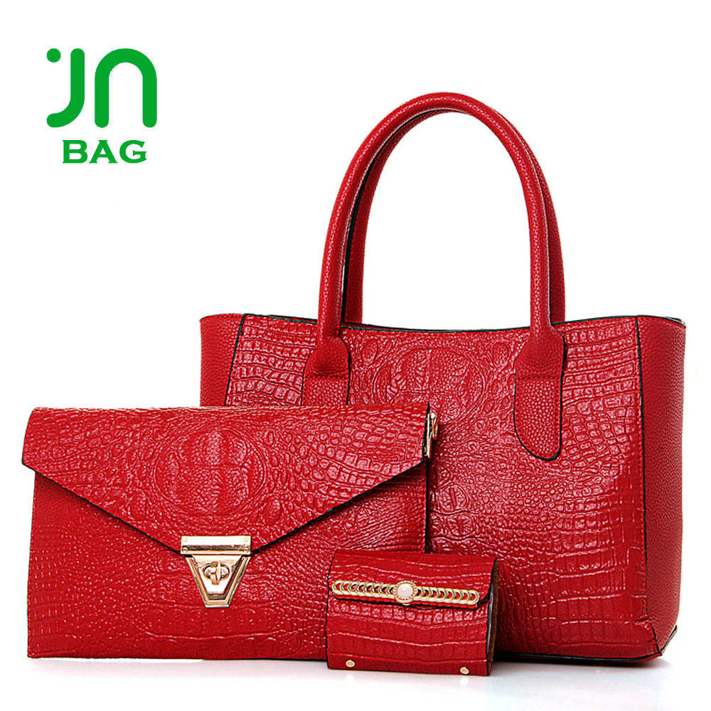 JIANUO bags handbag tote designer luxury handbags wholesale handbag set china
