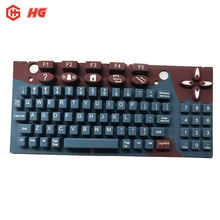Customized  silicon switch small computers keyboard rubber keypad