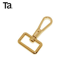 Factory Wholesale Metal Bag Fittings Clasp Metal Clip Swivel Hook for handbag