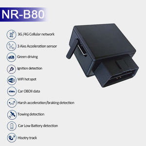 China Manufacturer Car Tracking Device wifi hotspot obd GPS tracker 4G tracking device with open source SDK
