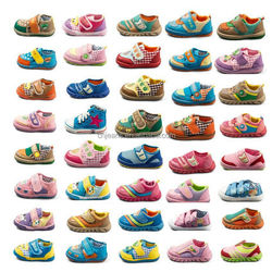 GZY hotsale cute high quality coloful baby shoes 2017