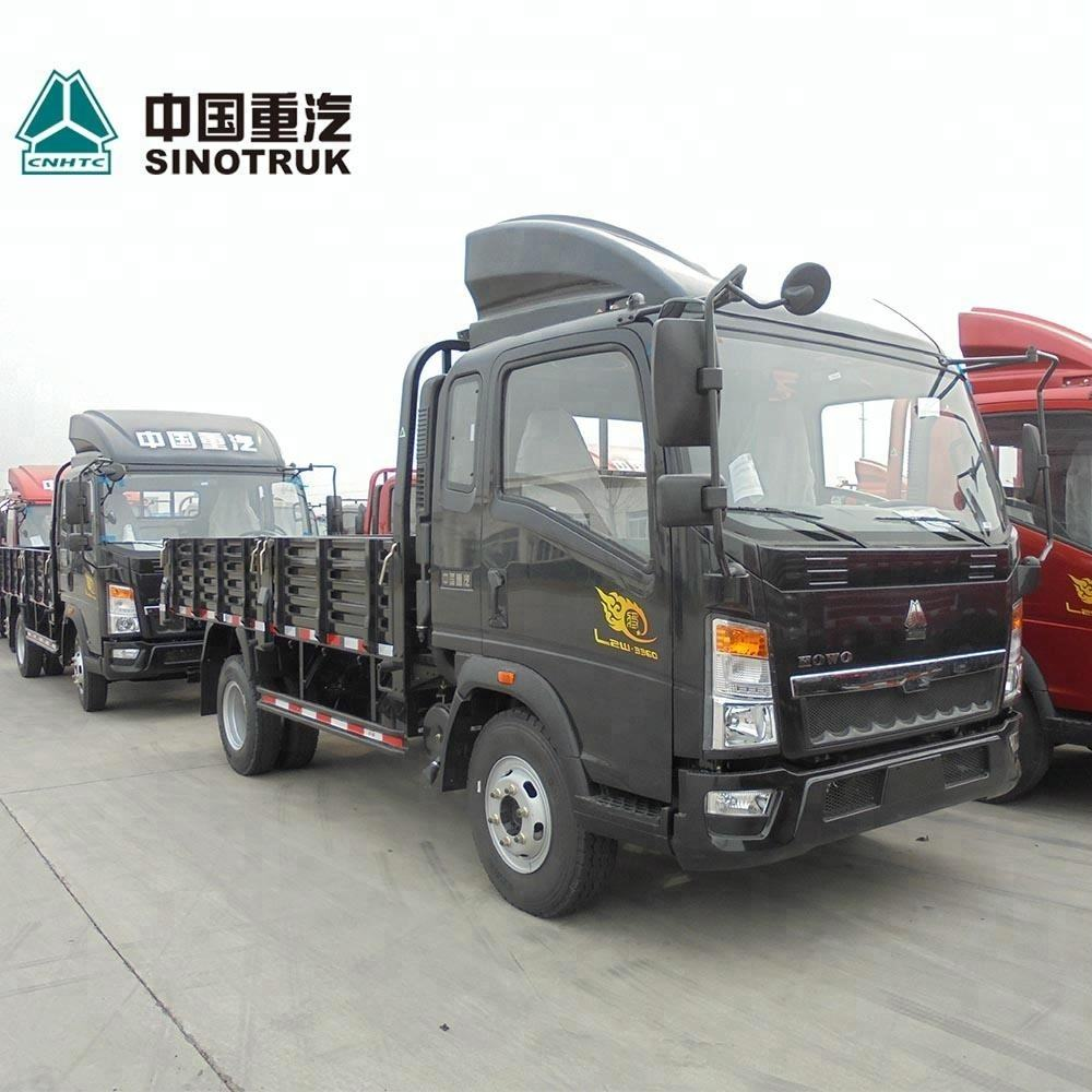 SINO TRUCK Left/right hand drive HOWO 1 2 3 4 5 tons Light Cargo truck