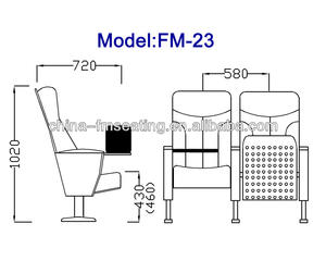 sillas plegables para salon de actos