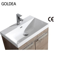 2019 artificial marble bathroom wash basin hotel wall hung bathroom sink