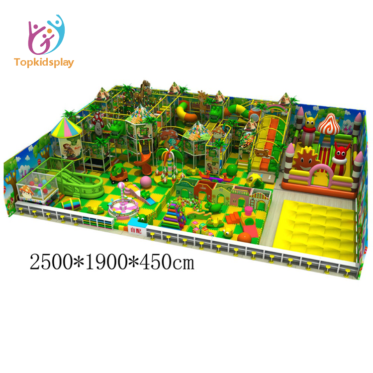 Topkidsplay March Expo Amusement Park Jungle Kids Games Soft Play Indoor Playground Equipment