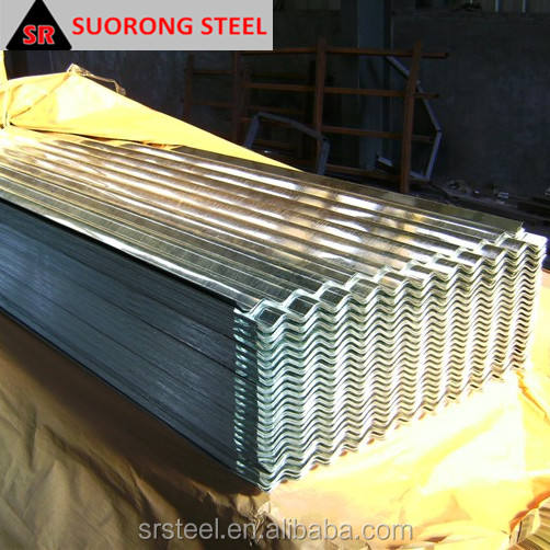 Chinese supplier cheap building materials color coated corrugated steel plate