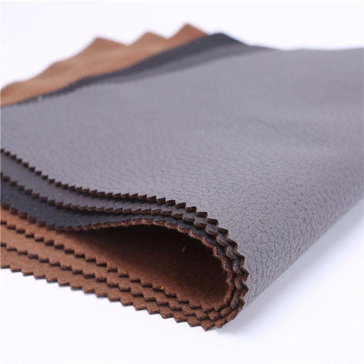 Widely Use cork softtextile textiles leather products synthetic upholstery faux pu leather fabric