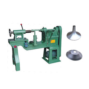 small manual metal aluminum copper steel stainless steel utensil spinning machine
