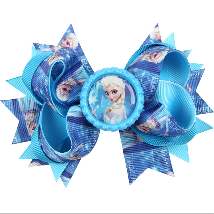 2020 Chinese manufacturer back to school hair bow for girls boutique