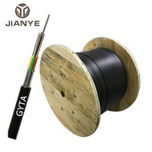 g625d  GYTA  kevlar aerial Armoured  optical fiber and cable 12  24 36 48 96 core roll  1km price lower factory supply