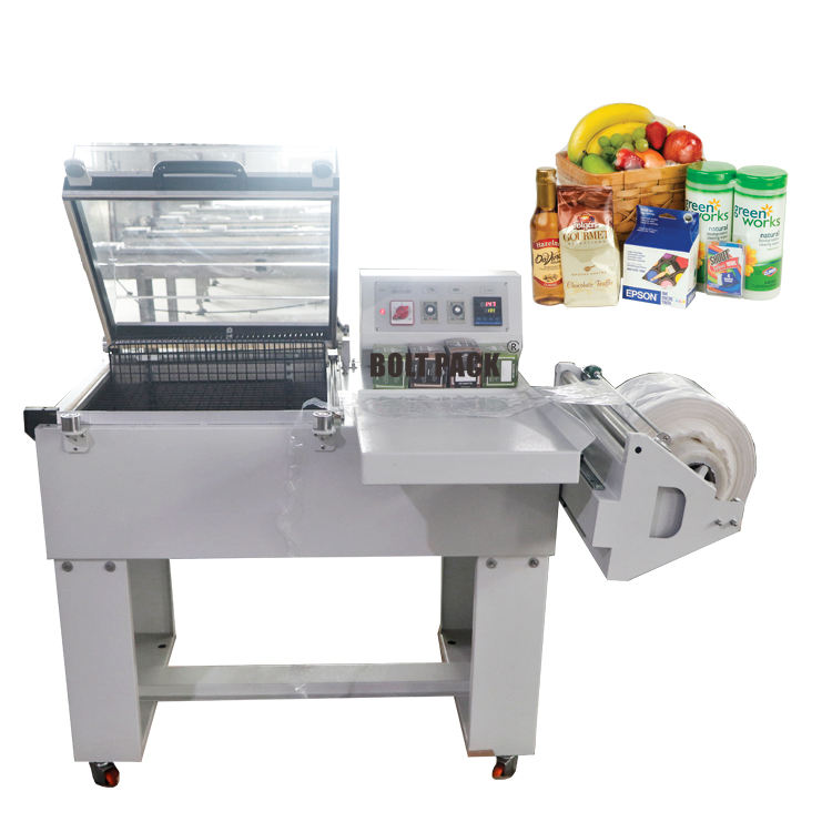 Manual packing film shrink wrapping machine for tea bag boxes