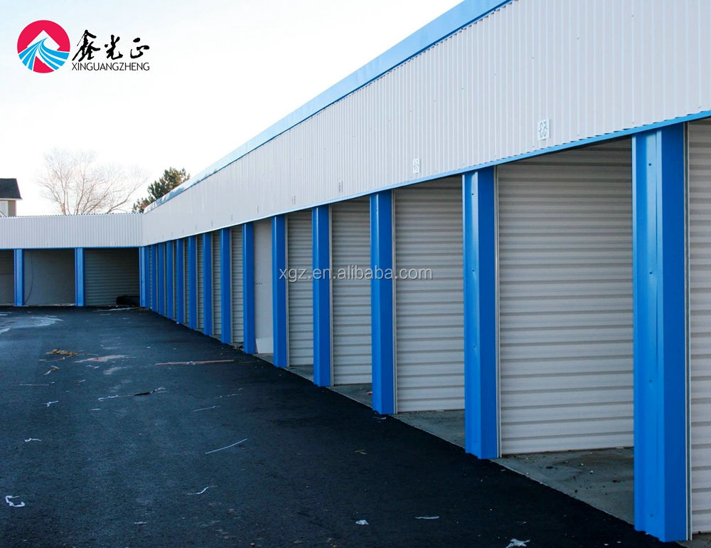 Prefab Light Structure Self Storage in US