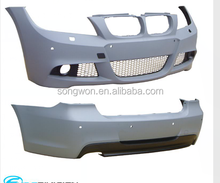 hot sale PP material front/rear bumper for bmw E90 M-TECH