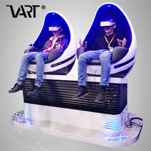 Modern Design Mini Theater VART Virtual Reality 9D Cine Vr Egg 9D Cinema Simulator VR Chair with VR Helmet