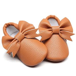 Hot new trendy bowknot graceful little princess first walkers soft bottom comfortable durable baby moccasins toddler shoes