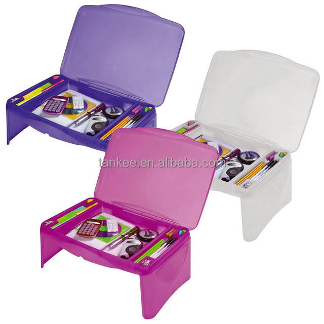 Kid folding study table with SGS certification