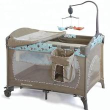 Mamakids 2018 European style hot selling portable folding baby bed  baby playpen baby crib