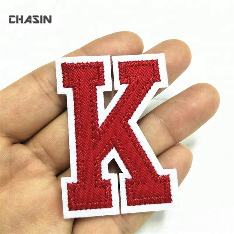 Custom alphabet iron on patches set, iron on patch letters