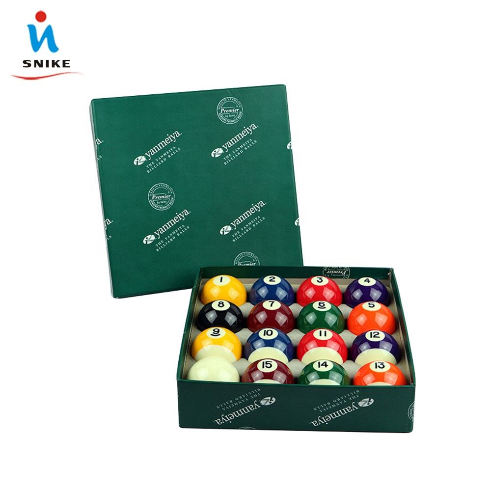 "2-1/4"" And 2-1/16"" Pool Billiard Ball Set"