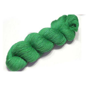 Charmkey comfortable dyed natural silk yarn price for weaving good price