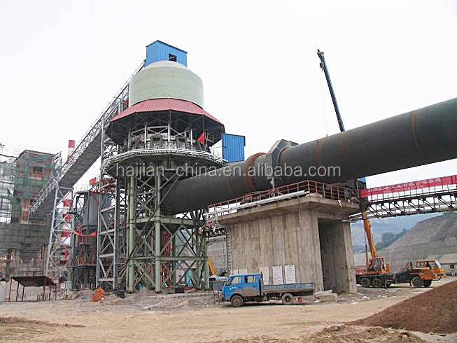 Famous best 100 tpd active lime rotary kiln for lime calcination widely usage