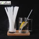 Pla Drinking Straws Plapla Drinking Straw Factory Eco-Friendly PLA Degradable Disposable Straight Drinking Straws