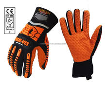 HIGH-VIS SDXO2 Top Quality Gloves Slip and Oil Resistant Water and Heat Resistant Safety Anti-vibration Anti-Shock Gloves