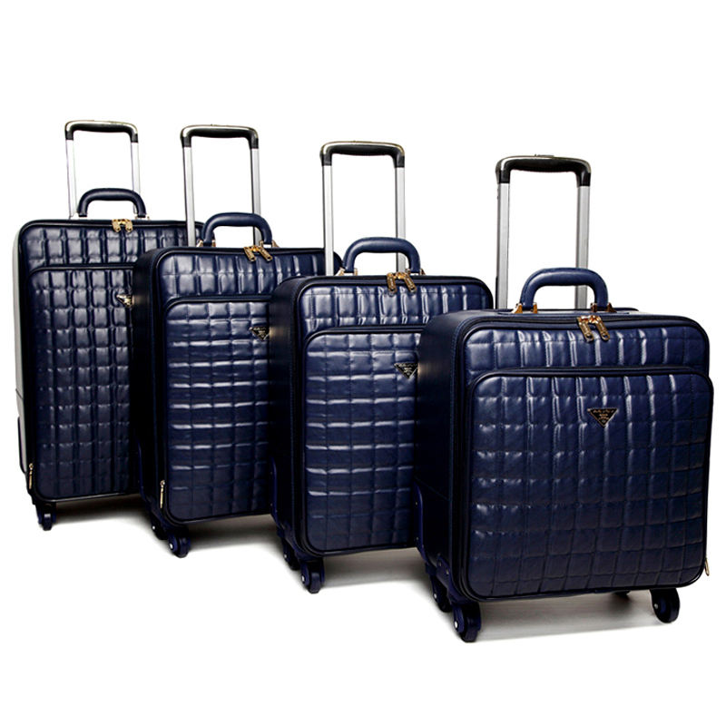 3 Pcs 16/20/24 inch travel luggage sets factory price Trolley Suitcase promotional trolley luggage
