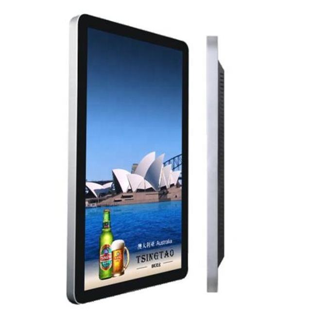 10.1 inch table advertising player mp4 loop video touch screen all in one pc full hd internet menu