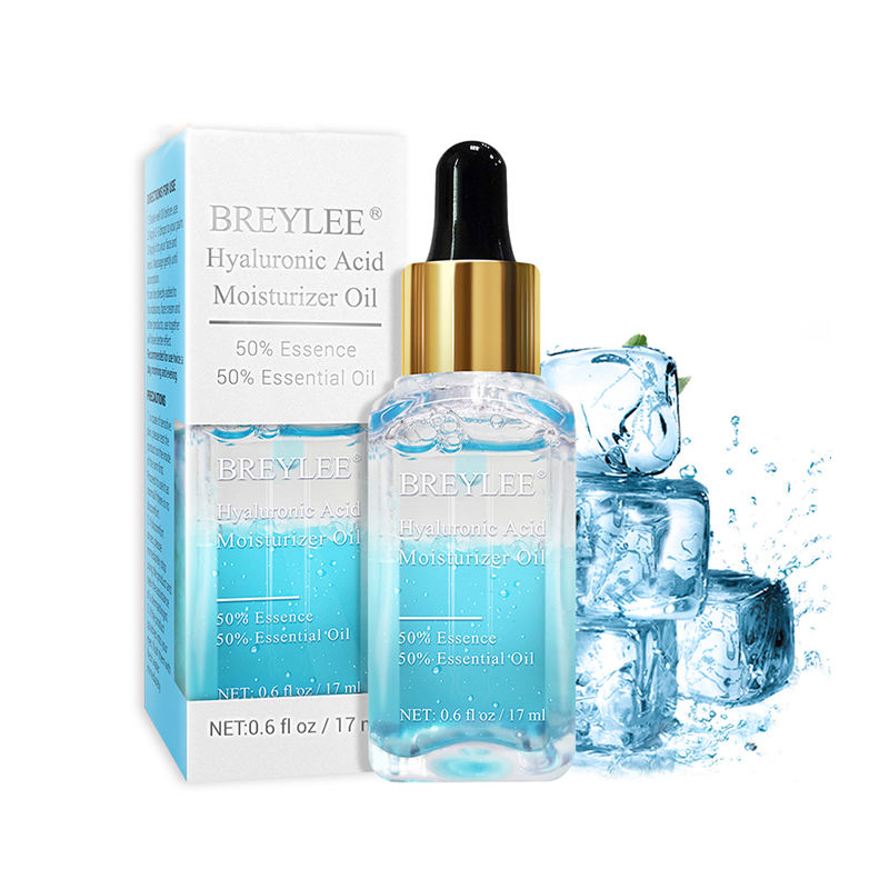 BREYLEE natural hyaluronic acid essential oil serum for facial hydrating free shipping