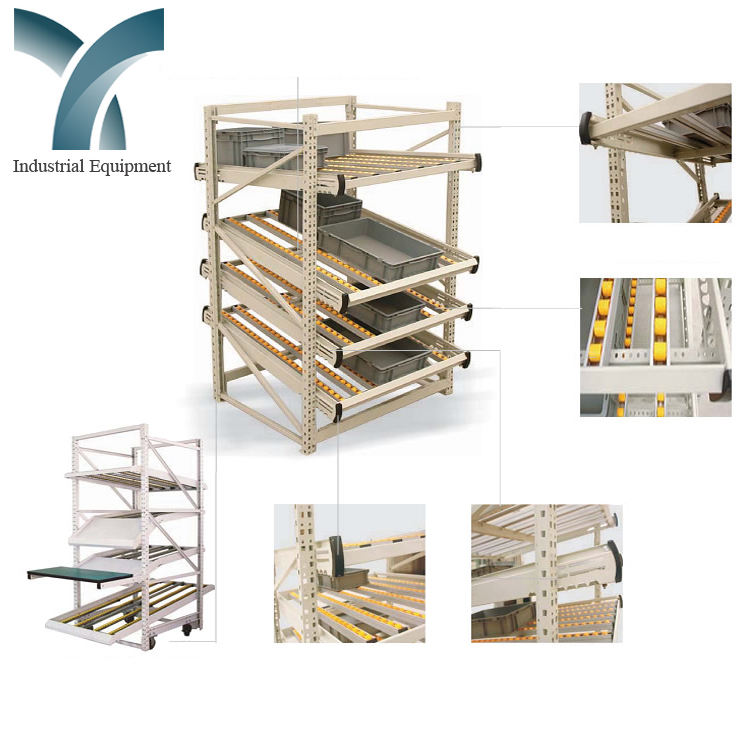 ce ios9001 tuv certification vna pallet textile roll rack