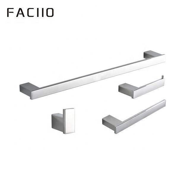 FACIIO Mode Wandmontage 304 rvs hotel 4 stuk badkamer hardware set