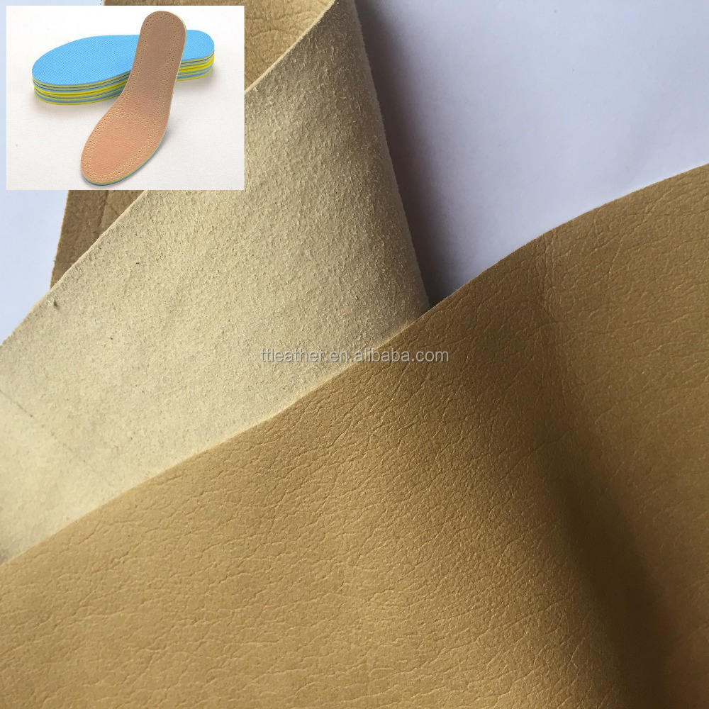 Soft Breathable Deodorant Microfiber Leather for Shoes Lining Shoes Pads Material