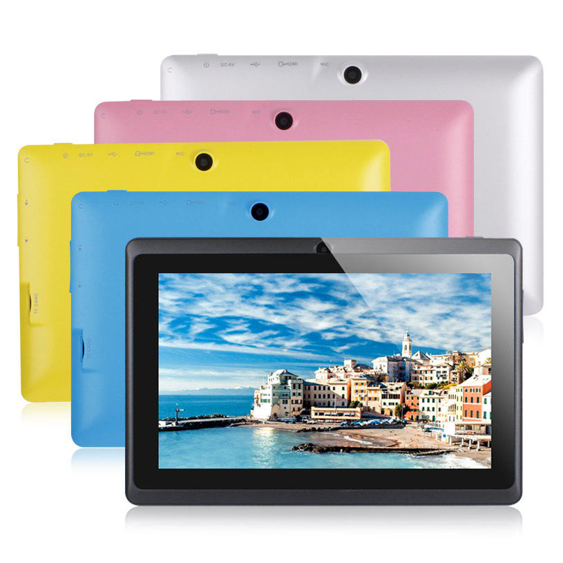 Neue Q88 7 zoll A33 Quad Core Bluetooth Kinder Tablet Pc Android 4.4 Mid Kinder Bildung Tablet Pc