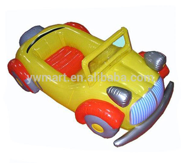 Cool inflatable car, inflatable racing car, inflatable toy car for kids